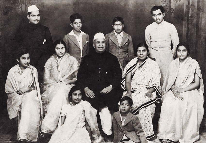 Shri Mataji with family